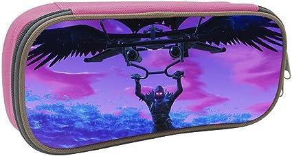 Estuche para lápices Fortnite Battle Royale Raven - Estuche para bolígrafos y lápices, ideal para la escuela, el hogar y la oficina: Amazon.es: Oficina y papelería