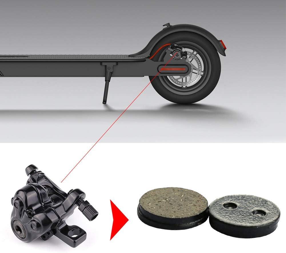 YGQersh 1 par de Pastillas de Freno de Disco de Bicicleta para MI KSD Xiaomi Mijia Scooter Skateboard M365