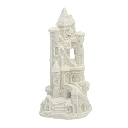 "Sand Castle Figurine 016 3.38/"" Tall Beach Wedding Decor Centerpiece Collectible"
