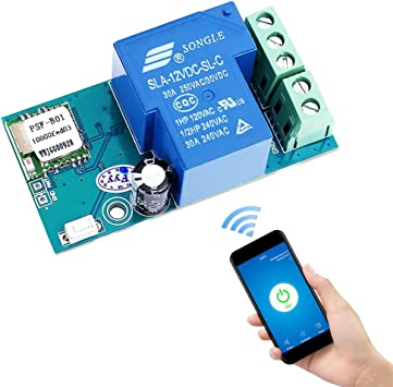 DC 12V Single WIFI RelayModul Wireless Relay Switch Module Jog Mode NEW