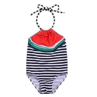 grande vendita b53cc a4353 Topgrowth Costumi Da Bagno Bambina Costume Intero Bagnarsi ...