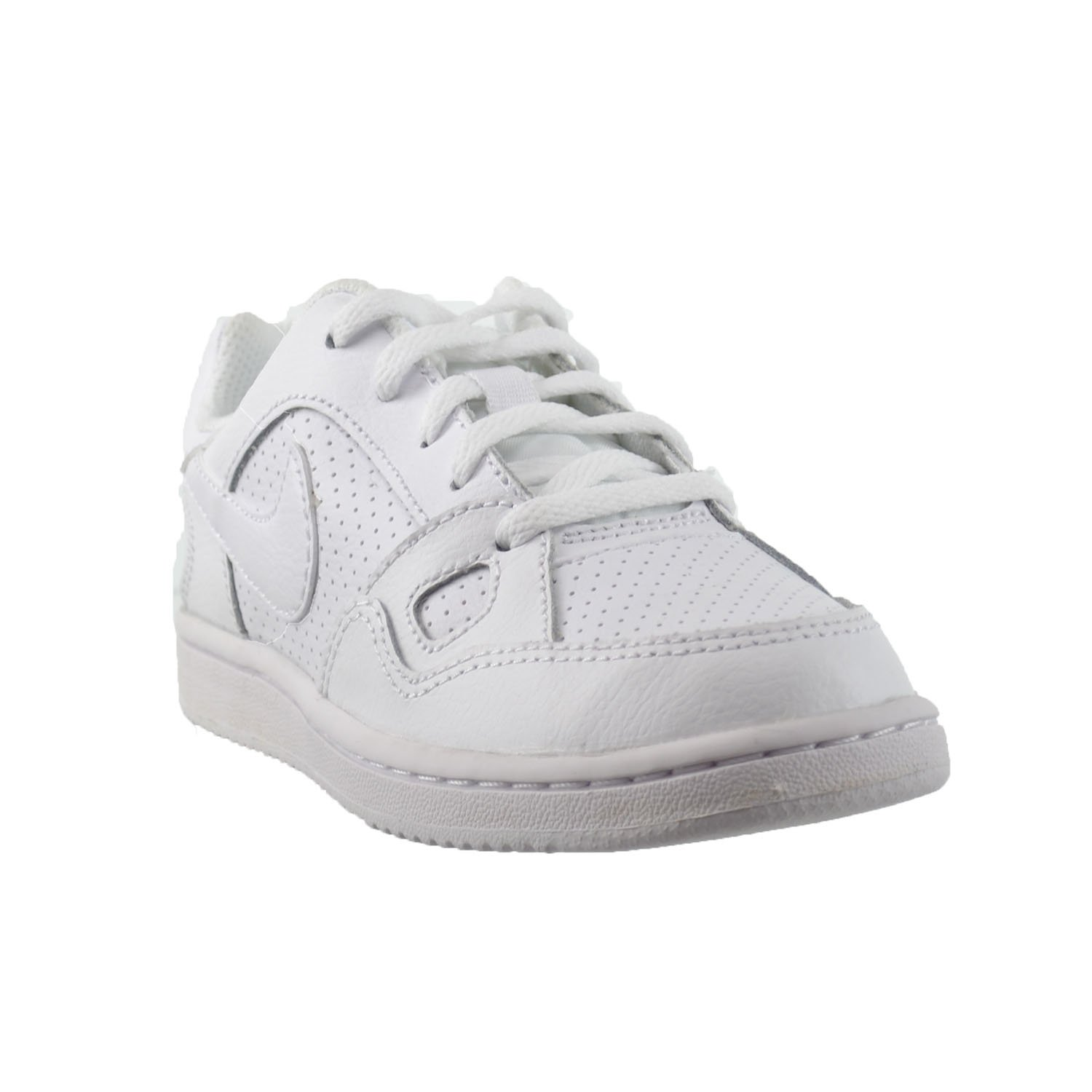 Little Kids Shoes White//White 615152-109 Nike Son of Force PS