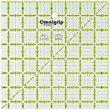 7 inch quilting squares - Dritz RN75 Omnigrip Non-Slip Quilter's Ruler, 7.5 by 7.5-Inch