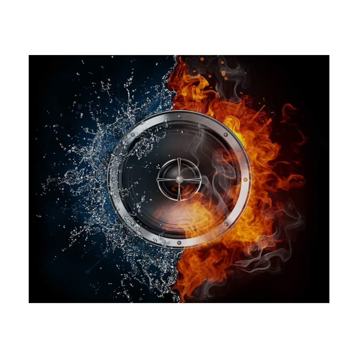 MUOOUM Gear Wheel Fire and Ice - Taza de viaje inoxidable de acero inoxidable viaje con aislamiento al vacío, botella de agua deportiva de 7.5 onzas, caliente durante 12 horas 9e6b05