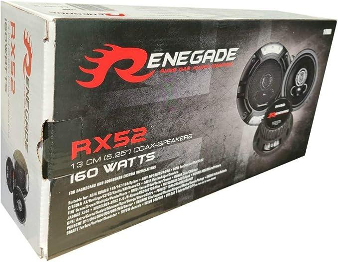 2 Lautsprecher Renegade Rx52 2 Wege Koaxial 5 25 13 00 Elektronik