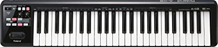 Roland A-49 Lightweight 49-Key MIDI Keyboard Controller