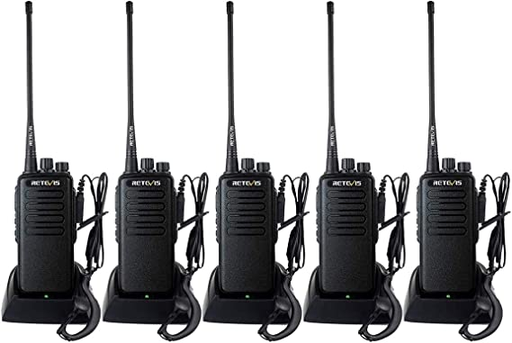 3×Retevis RT1 10W Walkie Talkies 3000MAh 16CH UHF CTCSS//DCS  VOX TOT Radio US