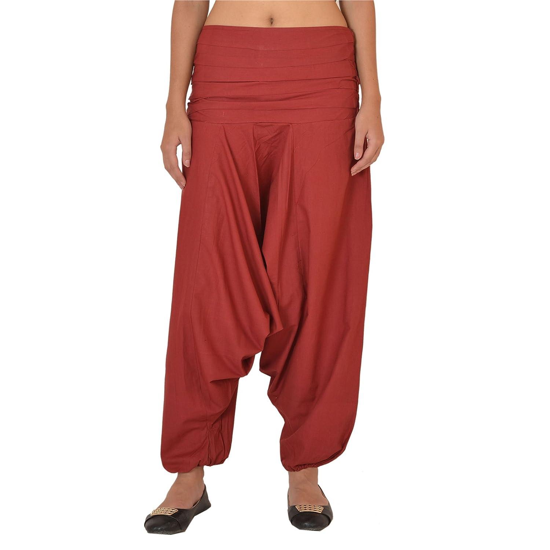 colore viola Skirts /& Scarves per yoga Pantaloni da donna in cotone