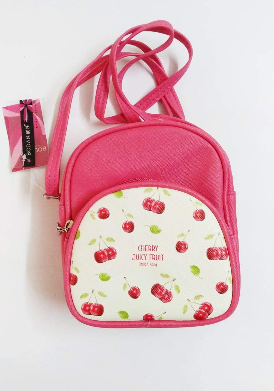 76d5241626fc4 ERA INNOVATIVE GIFTING New Fruit Design Sling/Hand Bag for Kids/Girls 17 *  8 * 14 Cms  Pink Color: Amazon.in: Bags, Wallets & Luggage
