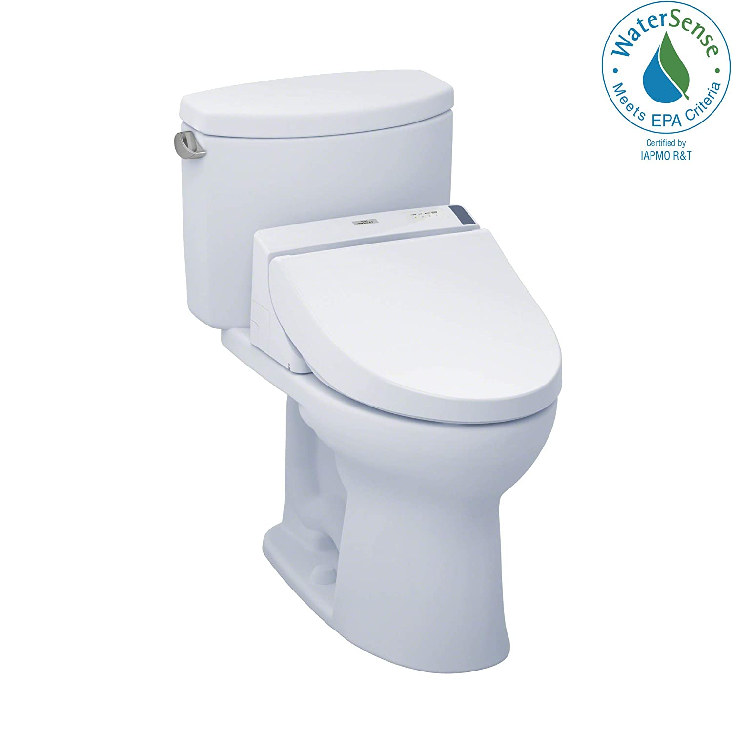 TOTO MW4542044CEFG#01 C200 WASHLET+ Kit, Drake II Elongated 1.28 GPF