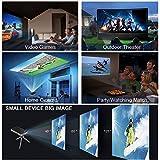 Smart-Mini-DLP-LED-Projector-Android-RAM-1GB-ROM-8GB-Wireless-Wifi-Projector-Quad-Core-100Lumens-854-x-480-Pixels-1080P-HD-Video-Projector-Bluetooth-HDMI-Airplay-Eshare-Miracast-Keystone-Correction