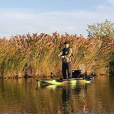 Lifetime Products Emotion Stealth Pro Angler 118 Fishing Kayak