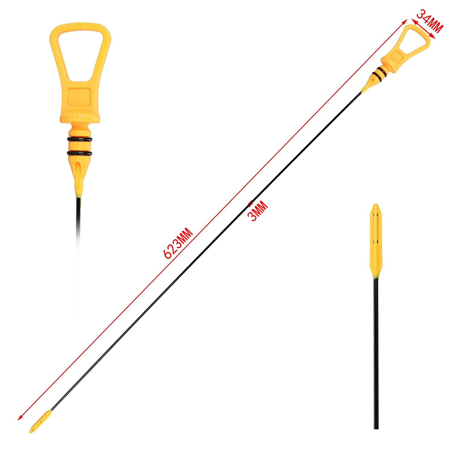Engine Oil Dipstick 11437509784 For M-Cooper R53 R52 From Madlife Garage