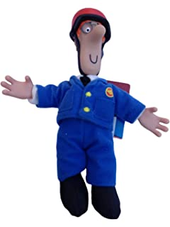 Sirdar postman pat toy doll designed by alan dart knitting pattern postman pat sds 8 inch collectable plush pilot pat character figure official merchandise dt1010fo