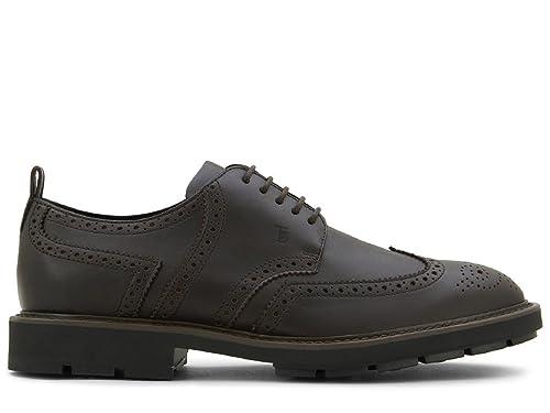 076dec26a8 Tod's XXM46A0U180VADS800 Men's Brown Leather Lace-up Shoes: Amazon.co.uk:  Shoes & Bags