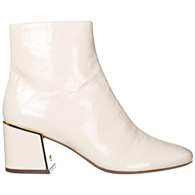 ce3a02e1ee32a Tory Burch Women s Leather Heel Ankle Boots Booties Juliana Beige UK Size 2  49711