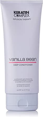Keratin Complex Vanilla Bean Deep Conditioner for Unisex, 207ml
