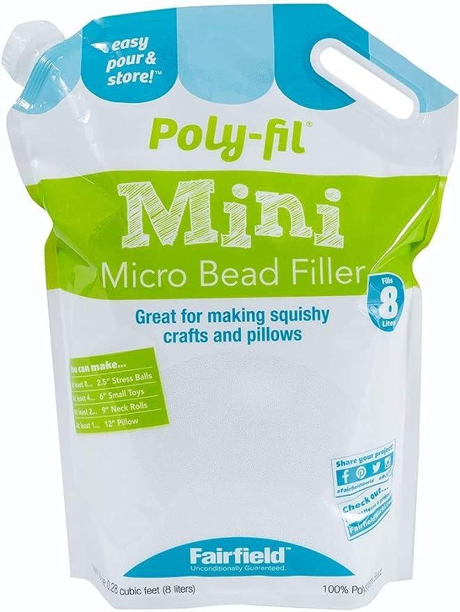 MI Poly-Pellets Stuffing Beads Fairfield PP246 24oz FOB