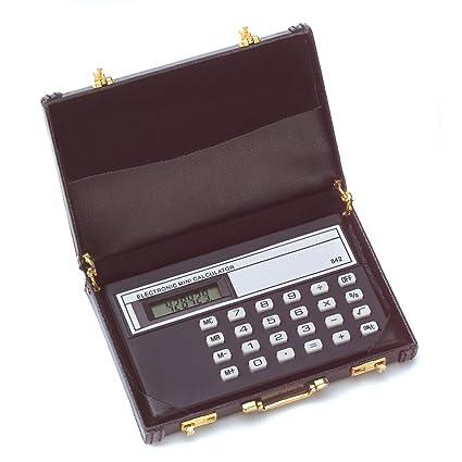 Amazon mini briefcase calculator vinyl business card holder mini briefcase calculator vinyl business card holder colourmoves