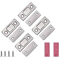 VOARGE Magneet voor kastdeur, ultradunne kastdeur, magneetsluiting, kastdeur, voor sluiting, kliksysteem, deurmagneet…
