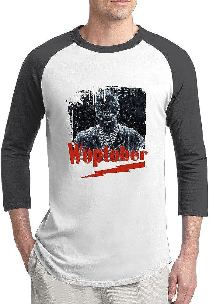 Gucci Mane Woptober Man Printed 3/4 Sleeve Raglan Customize T Shirt