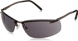 Uvex S4111 Slate Safety Eyewear, Matte Gunmetal Frame, Gray Hardcoat Lens