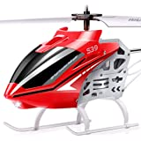SYMA RC Helicopter, S39 Aircraft with 3.5 Channel,Bigger Size, Sturdy Alloy Material, Gyro Stabilizer and High &Low Speed, Mu