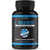 Havasu Nutrition Extra Strength L Arginine - 1200mg Nitric Oxide Supplement for...