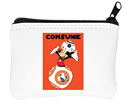 Mickey Mouse x R2D2 Consume Billetera con Cremallera ...