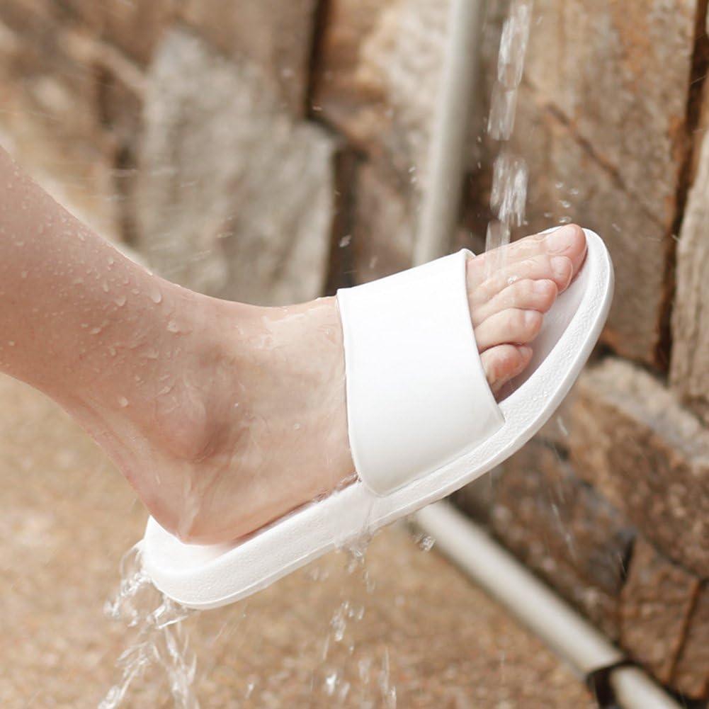 per doccia suola in schiuma di resina EVA Ciabatte per adulti senza lacci aperte bagno interni o esterni antiscivolo piscina