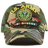 #4: THE HAT DEPOT Official Licensed U.S. Military Vietnam Veteran Ribbon Cap