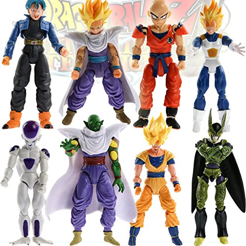 Lot 6 Anime Joint movable Action Figure Toy