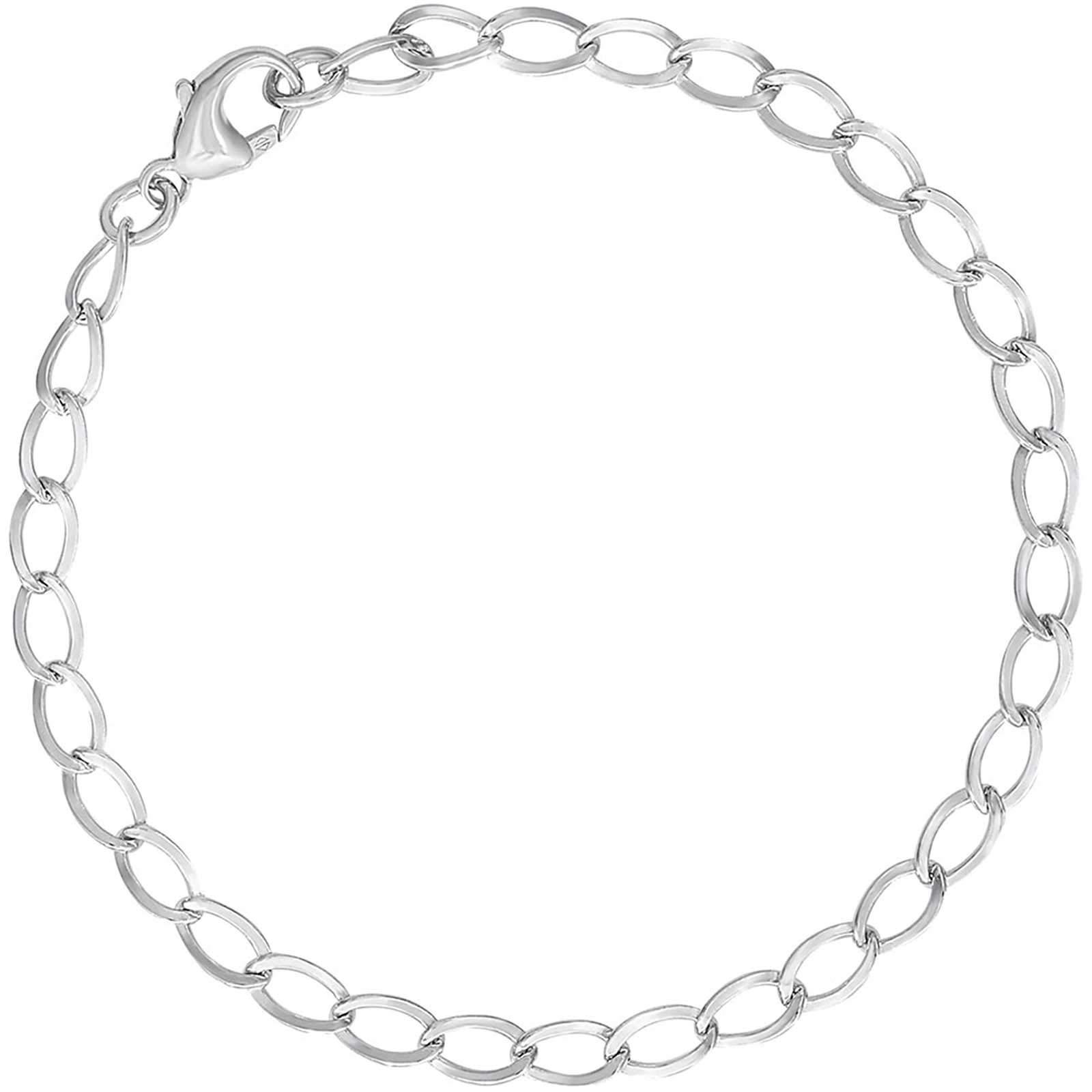 Rembrandt Charms 8'' Charm Bracelet, Sterling Silver