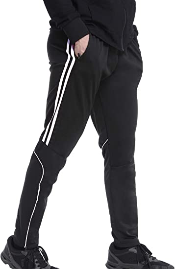 sale retailer reasonably priced incredible prices Amazon.com: RIOJOY Men's Sweatpants with Zipper Pockets 2-Stripes ...