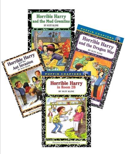 Horrible Harry Books (7): Horrible Harry in Room 2b; Horrible Harry and the Mud Gremlins; Horrible Harry and the Dragon War; Horrible Harry and the Green Slime; Horrible Harry and the Ant Invasion; Horrible Harry's Secret; Horrible Harry At Halloween (Fright Time Series) ()