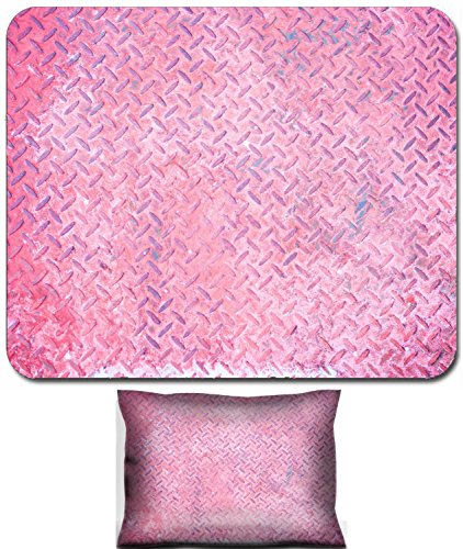 - Luxlady Mouse Wrist Rest and Small Mousepad Set, 2pc Wrist Support design IMAGE: 34738518 Seamless vintage pink steel diamond plate texture