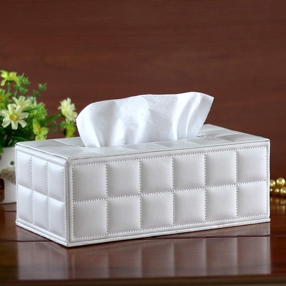 Gr/ün 1X Toruiwa Tissue Box PU Leder Taschent/ücher Halter Aufbewahrungskiste f/ür Home Office