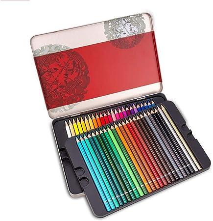 72 lápices de colores profesionales Conjunto de lápices de artista Plomo de serie suave de artista