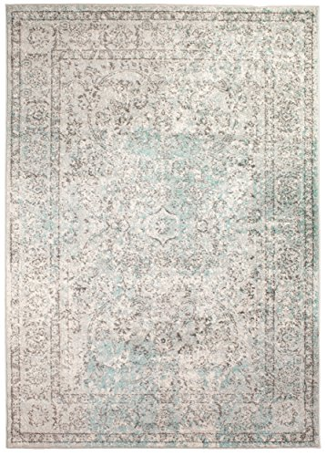 8 x 10 Modern/Traditional Vintage Distressed Area Rug Living Rooms Open Spaces Overdyed Neutral