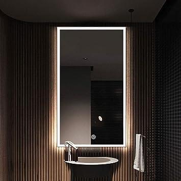 Miroir De Salle De Bain A Suspendre Rectangulaire Avec