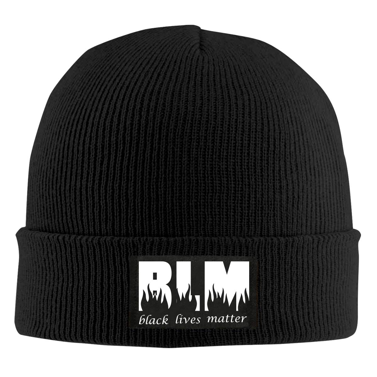 BLM Black Lives Matter 20 Men /& Womens Knitted Hat Comfortable Pure Color Hat