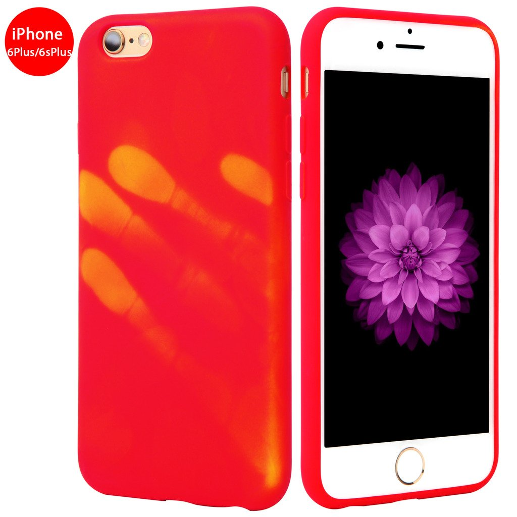 online store 8c31c 2d2bb Seternaly Creative Thermal Case for iPhone 6 Plus/ iPhone 6s Plus TPU  [5.5