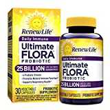 Renew Life – Ultimate Flora Daily Immune Probiotic – 25 billion – 30 vegetable capsules