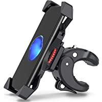 FYLINA Anti-Shake Handyhalterung Fahrrad Motorrad Handy-360° Drehbare Halter Verstellbarer Smartphone Halter