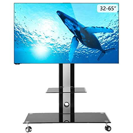 Lcd Tv Mobile Stand 32 65 Inch Tv Universal Cart Video