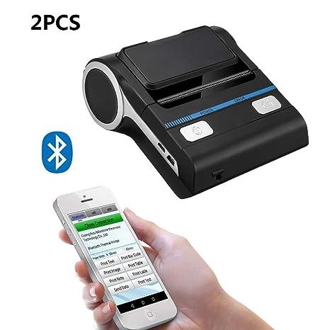 Mini Impresora Térmica Portátil Con Interfaz USB Bluetooth ...