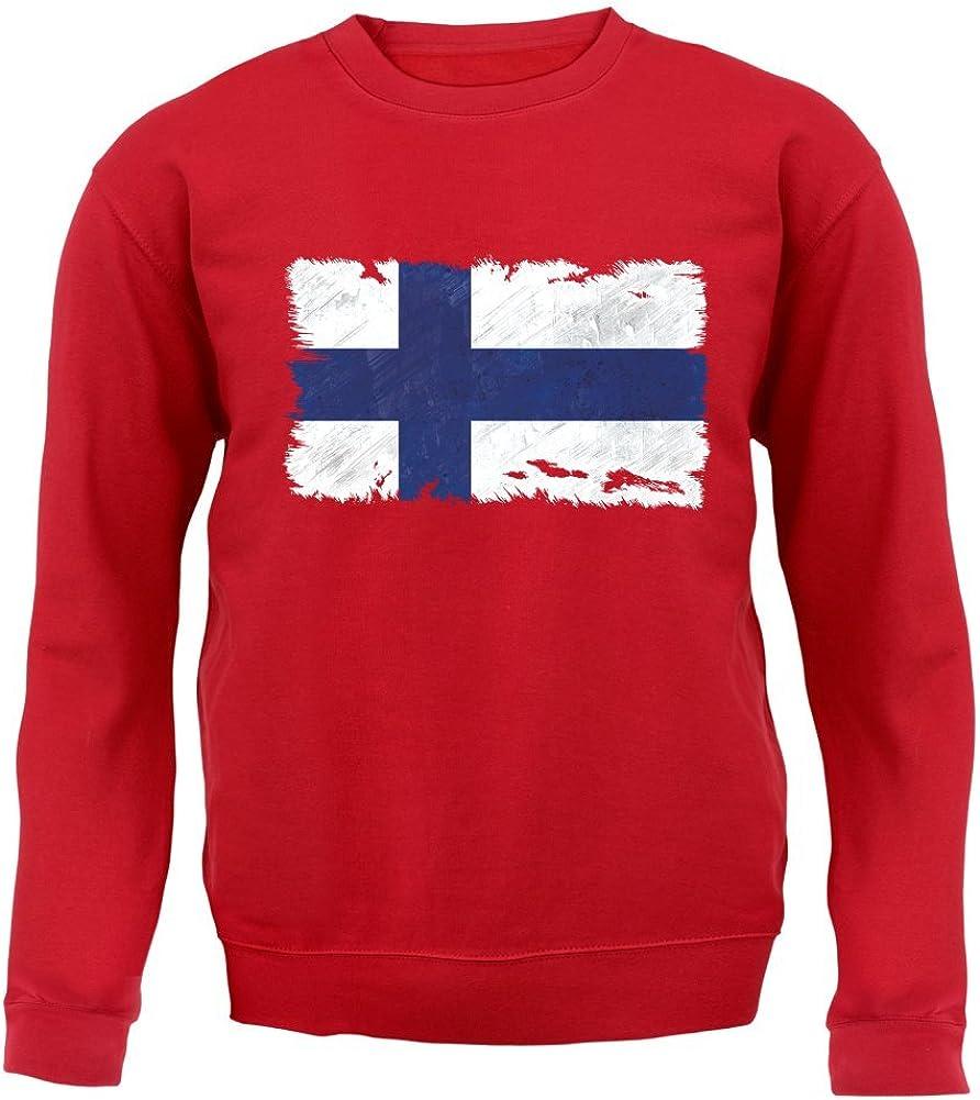 Finlandais drapeau t shirt choix de taille et couleurs,