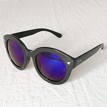 ad1fe4d6b0 GMYANTYJ Gafas de Sol Marea Cara Redonda Retro Elegante Nuevas Gafas de Sol  Modelos Femeninos Gafas de Personalidad señoras Gafas de Sol: Amazon.es: ...