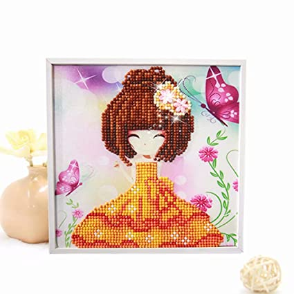Fine Diy Diamond Painting Cross Stitch Bathing Girl Full Diamond Embroidery Needlework Rhinestone Crafts Christmas Gift Dolls & Bears Reborn