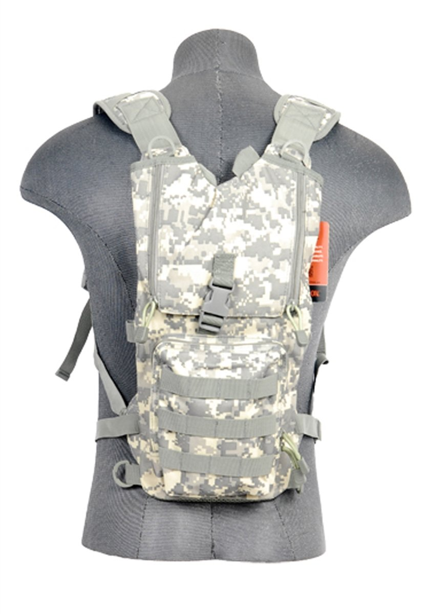 Lancer Tactical CA-321A Lightweight Airsoft Hydration Pack ACU